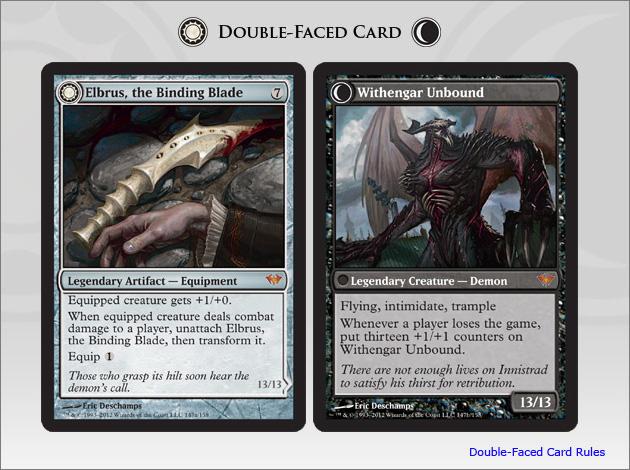 Elbrus, the Binding Blade // Withengar Unbound - Dark Ascension Magic