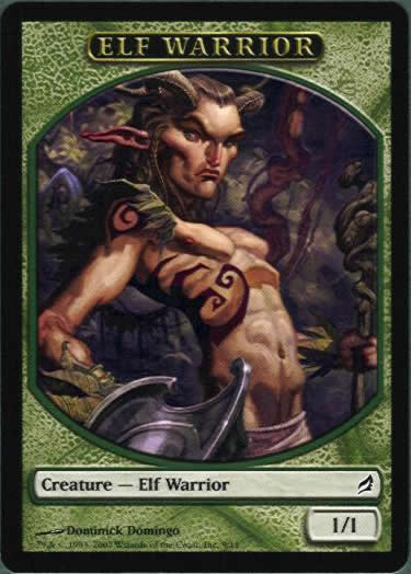 Elf Warrior (Token)