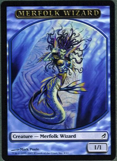Merfolk Wizard (Token)