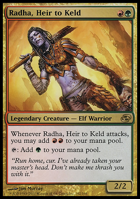 edh radha s primal surge one card 15 000 damage the wizard s