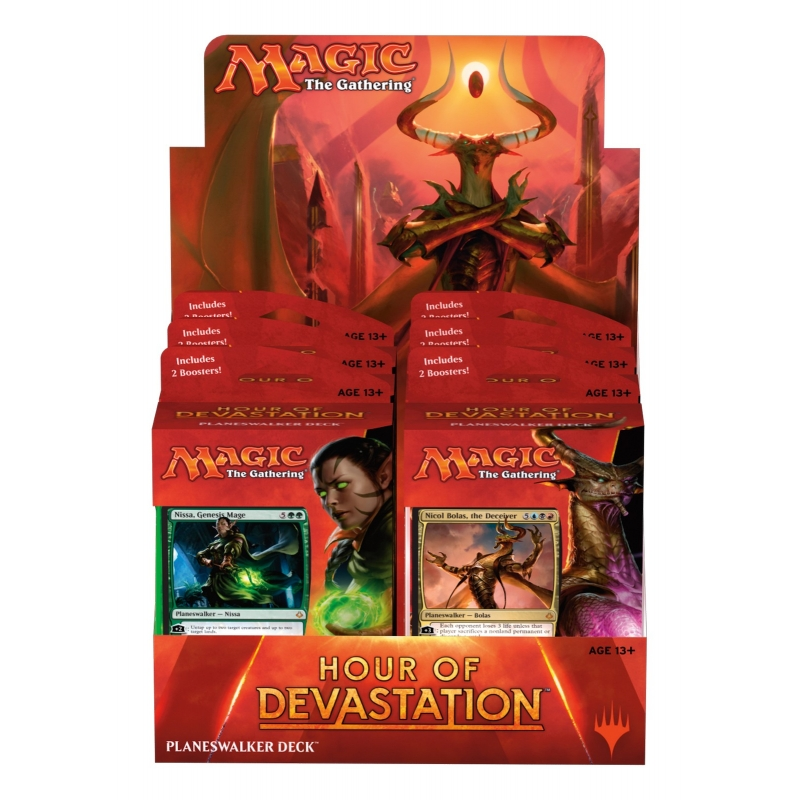 Hour of Devastation Planeswalker Decks