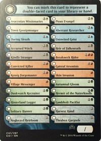 Shadows Over Innistrad Checklist Card 2