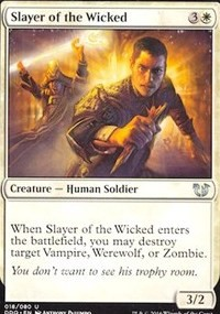 Slayer of the Wicked (BvC)