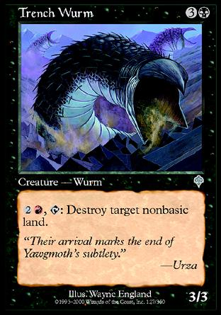 Trench wurm invasion magic the gathering single for Gabriele wurm