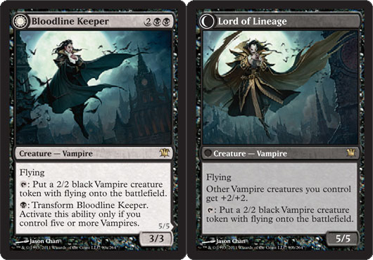 bloodline keeper lord of lineage innistrad magic the gathering single wizards cupboard. Black Bedroom Furniture Sets. Home Design Ideas