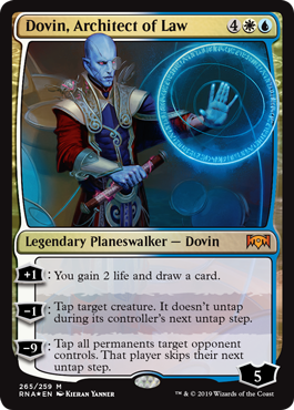 Dovin, Architect of Law (planeswalker deck)
