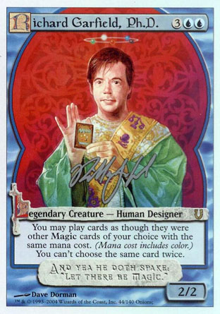 Richard Garfield, Ph. D.