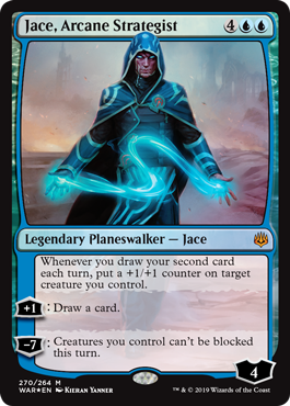 Jace, Arcane Strategist - War of the Spark Magic the