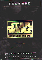 Star Wars Premiere Unimited Starter (White border)